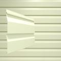 Сайдинг наружный виниловый Docke Dacha Корабельный брус Желтый