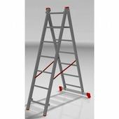 Лестница двухсекционная Новая Высота (2х8 ступеней)