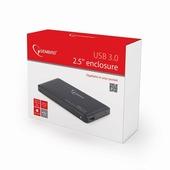 """Бокс для внешнего подключения HDD Gembird EE2-U3S-2 (2.5""""hdd SATA, USB3.0, black)"""