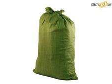 Мешок строительный ПП 55*95см, зеленый, шт