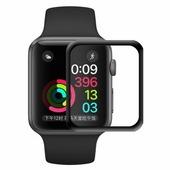 Ainy 5D защитное стекло для часов Apple Watch 42mm с полной проклейкой, Ainy, цвет чёрный