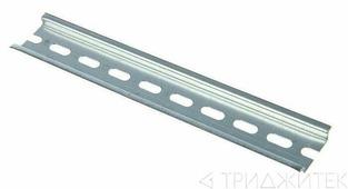 Дин-рейка 10см оцинкованная IEK YDN10-00100