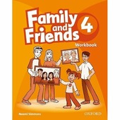 "Simmons Naomi ""Family and Friends 4. Workbook"""