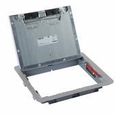 Крышка для напольной коробки нержавеющая сталь стандартное исполнение 12-18 модулей. Цвет Нержавеющая сталь. Legrand (Легранд). 088004