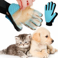 Перчатка True Touch для вычесывания шерсти домашних животных