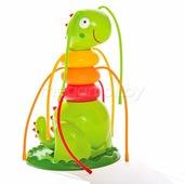 Детский надувной игровой центр Дружелюбная гусеница Intex 56599 18x17x27 см
