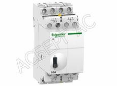 Контакторы модульные Schneider Electric iCT Модульный контактор 16A 4НО 220/240В АС Schneider Electric, A9C22814