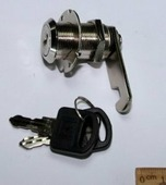 505-30N К/А Камлок d19х30мм, система одинаковые ключи, никель, металл (G12717-120)