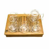 Подарочный набор заварочный чайник и 4 чайные пары