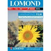Пленка Lomond для ламинирования 150мкм, 50пак, А4(218х305мм), глянцев. (1302143)