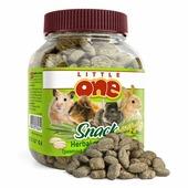 Лакомство Little One Herbal Crunchies Snack Травяные подушечки для всех грызунов, 100гр