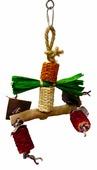 "Игрушка для птиц SKY ""Corn Dongle"", мультиколор, 25х12см (Великобритания)"