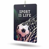 Ароматизатор AVS APS-025 Sport is Life (аром. Leader/Лидер) (бумажные)