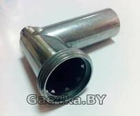 Металлический корпус шнека для мясорубки Белвар КЭМ 36/220-4
