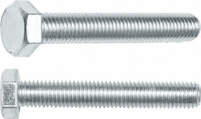 Болт М6х100 мм шестигр., цинк, кл.пр. 5.8, DIN 933 (20 кг.) STARFIX