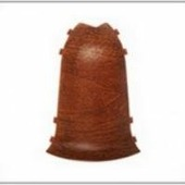 Угол наружный для плинтуса ПВХ Ideal Комфорт (в цвет плинтуса)