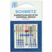 Универсальный набор комбинированных игл Schmetz (8+1 шт.)