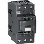 3p контактор everlink ac3 440в 50a, катушка упр. 24-60в ac/dc, пружинный зажим Schneider Electric, LC1D50ABNE