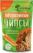 """Чипсы Здороведа """"Морковные Оригинальные"""", с ламинарией, 100 г"""