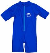 Детский короткий гидрокостюм для пляжного отдыха и плавания iQ Shorty Jollyfish Blue