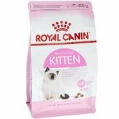 Корм ROYAL CANIN Kitten 400гр для котят 4-12 мес и кормящих кошек