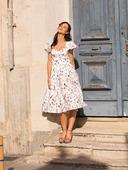 Электронная выкройка Burda - Платье с облегающим лифом №112