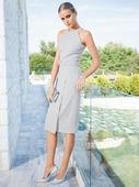 Электронная выкройка Burda - Платье с американской проймой №113