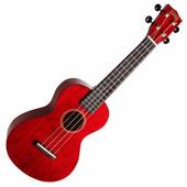Mahalo MH2TWR Укулеле концертная с чехлом, струны Aquila, цвет Transparent Wine Red, серия Hano