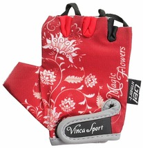 Велоперчатки детские Vinca sport VG 959 magic flowers