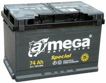 Автомобильный аккумулятор A-mega Special 6СТ-74-А3 (74 A/h), 750A R+