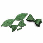 kukiruki.ru Бантик из фоамирана 10см, цвет зеленый
