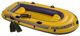 INTEX 68370 Challenger 3 Set Надувная лодка 295*137*43 см.