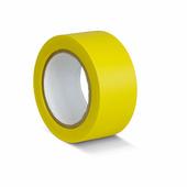 Лента для разметки самоклеящаяся Vell длина 33 м, ширина 75 мм, желтая, 0,15 мм, ПВХ (Standart)