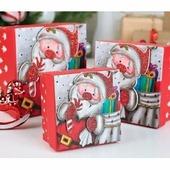 Набор подарочных квадратных коробок 3-в-1