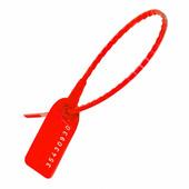 Пломбы пластиковые номерные УП-255, красные {55864} (1000 шт.)