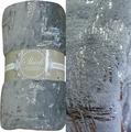 Плед TexRepublic Shik, цвет: серый, 150 х 200 см