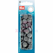 Кнопки Color Snaps пластик 30 шт серый Prym 393145