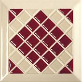 Керамическая плитка TONALITE Декор Decoro Kyoto Bordeaux