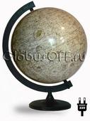 Глобус луны d=32 см с подсветкой Глобусный мир 10080