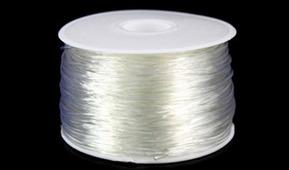 Шнур силиконовый PVC, 1,5 мм, 50 м, арт. 7709249