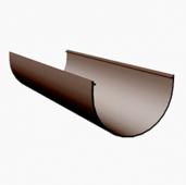 Желоб водосточный Docke Premium D-120, Шоколад