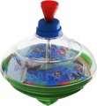 Junfa Toys Юла Super Reg-Top цвет зеленый