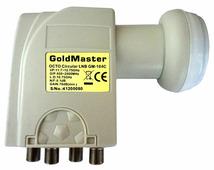 Спутниковый конвертер GoldMaster GM-104C (круговой)
