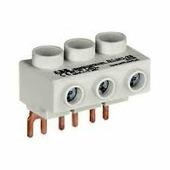 Шинные разводки ABB Колодка плоская S1-M1-25 для подключения 3-фазного кабеля до 25мм2, 65 А к автоматам типа MS116/132 АВВ, 1SAM201907R1101