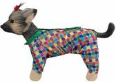 Комбинезон для собак Dogmoda Мозайка, DM-190071-4, унисекс, размер 4 (XL)