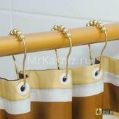 Кольца для штор Piercing Gold