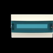 Лицевая панель Mistral41 18М зеленая дверь ABB, 1SLM004100A1604