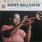 "Dizzy Gillespie ""Dizzy Gillespie – Grand Orchestre - Pasadena 1948 (LP rare!)"""