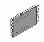 1SDA0 54923 R1 ADP Адаптер для вт./вык.исполнений 12pin Т4-T5-Т6 ABB, 1SDA054923R1