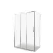 Стеклянная душевая стенка Good Door Orion SP 80 (прозрачное/хром)